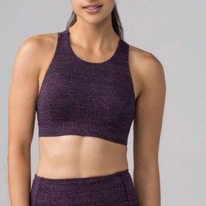 LULULEMON purple sports bra size 6
